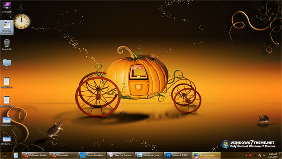 this halloween theme contains 10 hq backgrounds of halloween with the resolution of 1920 x 1200 pixels which will fit in most screens this windows 7 theme - Halloween Windows 7 Theme