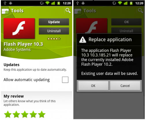 Download Adobe Flash Player 10 3 For Android Devices Eches Dot Net