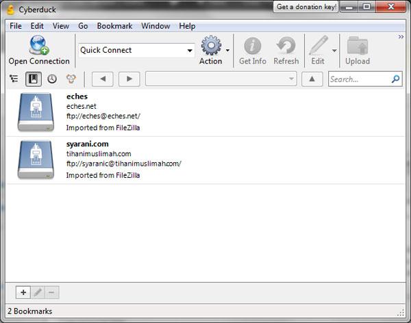 Cyberduck - FTP client