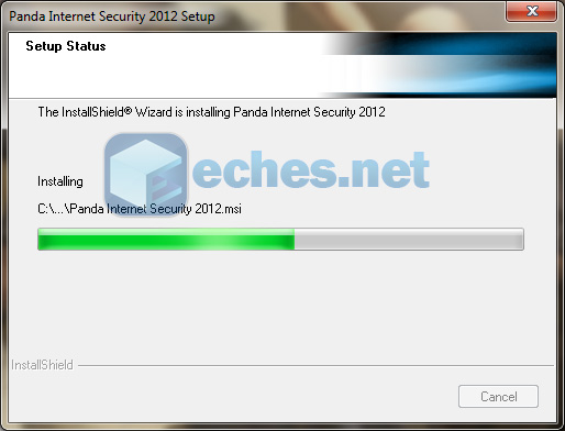 Panda Internet Security 2012 installation