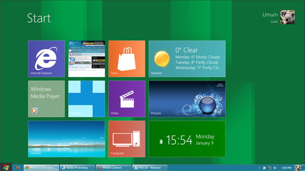 Windows 8 transformation pack - Desktop
