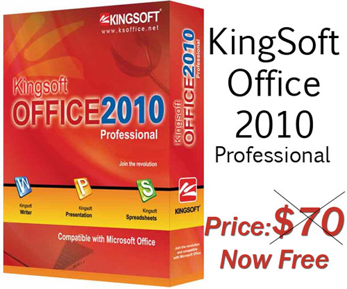 Download Kingsoft Office Professional 2010 – FREE License